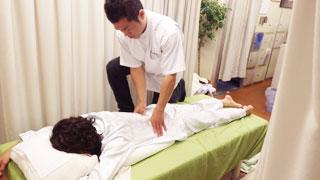 治療の流れ5:浅草橋のマッサージ ぎっくり腰、はり、骨盤矯正なら 森の治療院
