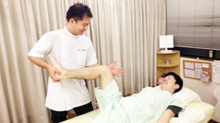 治療の流れ7:浅草橋のマッサージ ぎっくり腰、はり、骨盤矯正なら 森の治療院